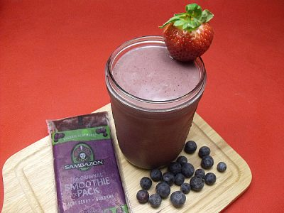 Triple Berry Acai Smoothie