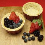 Triple Berry Tart with Greek Yogurt