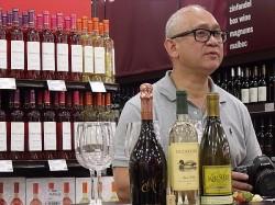 Wine Tasting with BevMo Cellar Master, Wilford Wong