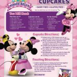 Minnie Mouse Gluten-free Valentine's Day Cupcakes