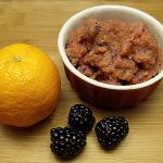 Tangerine Blackberry Sorbet
