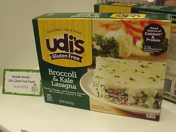 Udi's Broccoli and Kale Lasagna