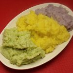 Easy Festive Tri-Color Mashed Cauliflower