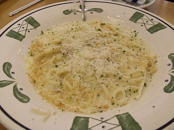 Bucatini Pasta with Roasted Garlic Alfredo Sauce