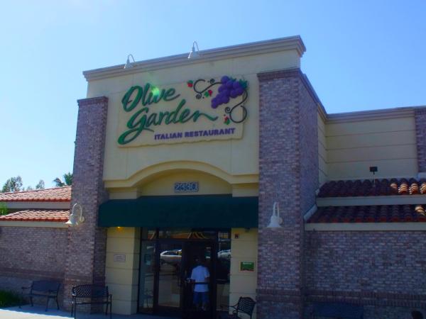 Olive Garden Italian Restaurant - Orange, California