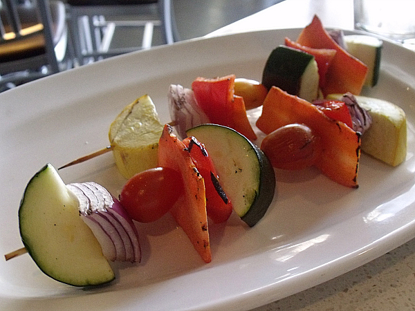 Grilled Vegetable Skewers at The Counter, Irvine, California