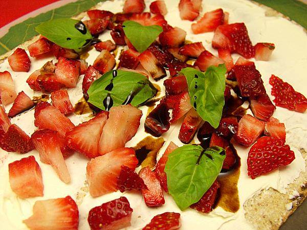 Strawberry Basil Wrap