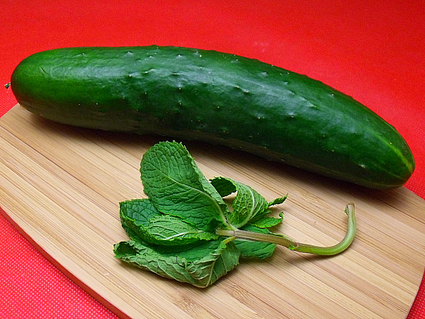 Cucumber and Fresh Mint