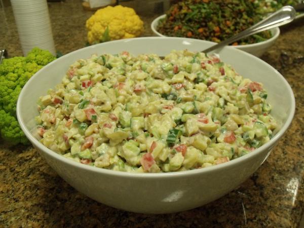 The Blender Girl Potato Salad