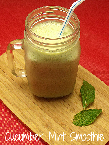 Refreshing Cucumber Mint Smoothie Recipe