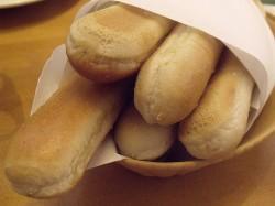 Breadsticks at Olive Garden Italian Restaurant - Orange, California