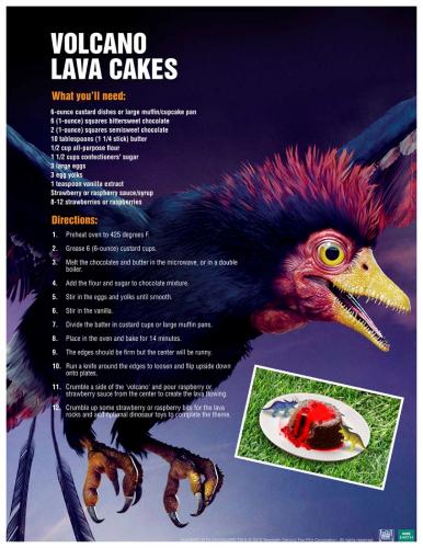 Volcano Lava Cake