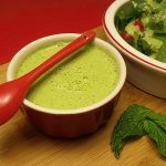 Creamy Cucumber Mint Salad Dressing