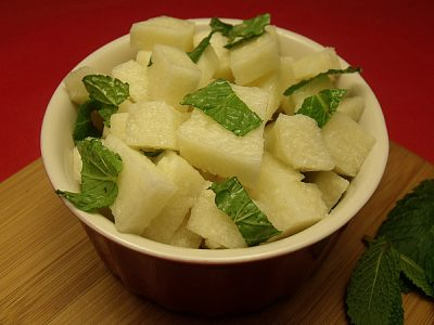 Jicama Mint Salad