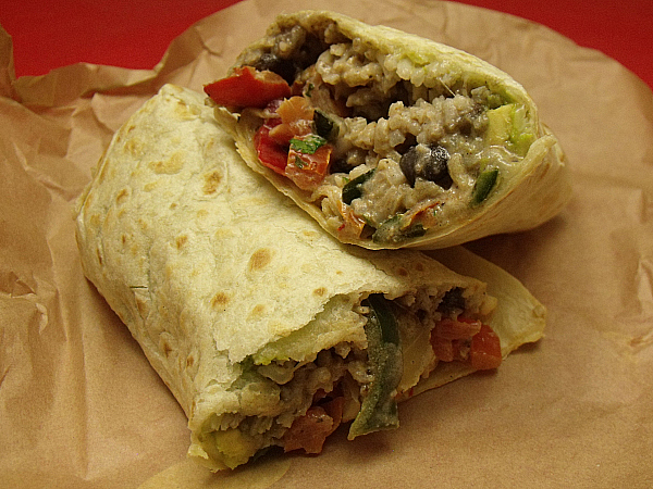 Veggie Burrito at 26612 Towne Centre Drive Foothill Ranch, CA 92610