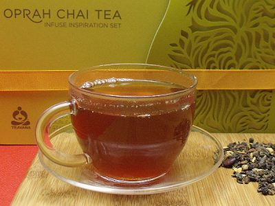 Teavana Oprah Chai Tea Launch