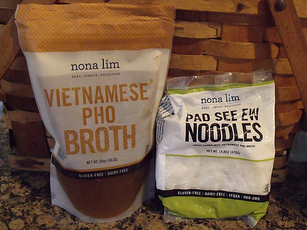 Nona Lim Vietnamese Pho Broth with Pad See Ew Noodles