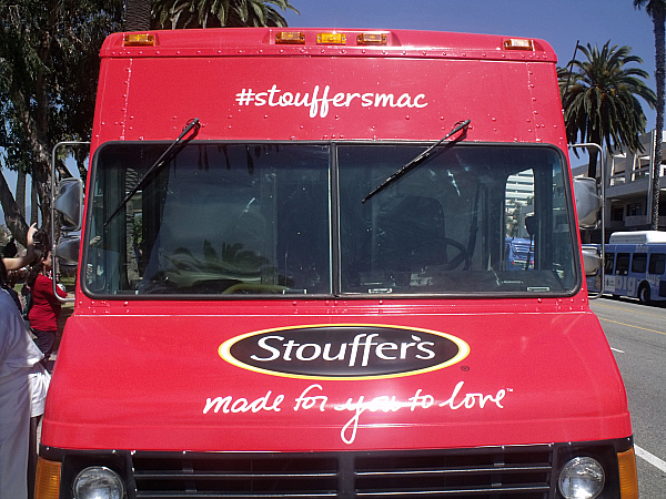 Stouffer's Mac and Cheese Food Truck