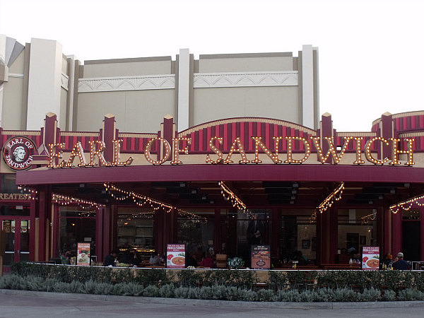 Earl of Sandwich - Downtown Disney - Anaheim, California