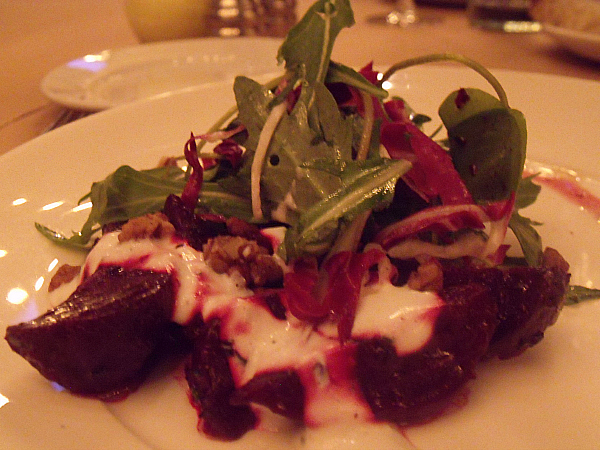 Smoked Beets at Irving St. Kitchen - Portland, Oregon
