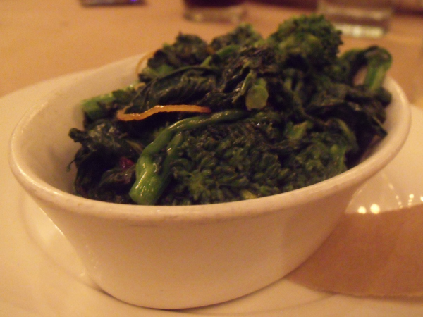 Broccoli Rabe at Irving St. Kitchen - Portland, Oregon