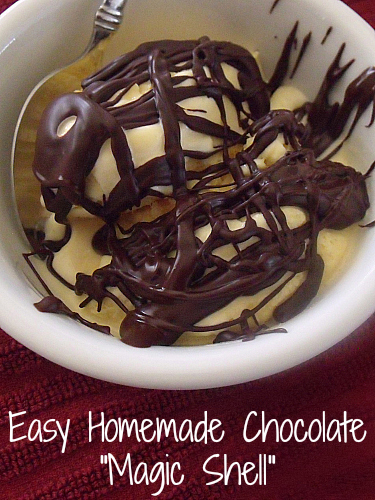 Easy Homemade Chocolate Magic Shell