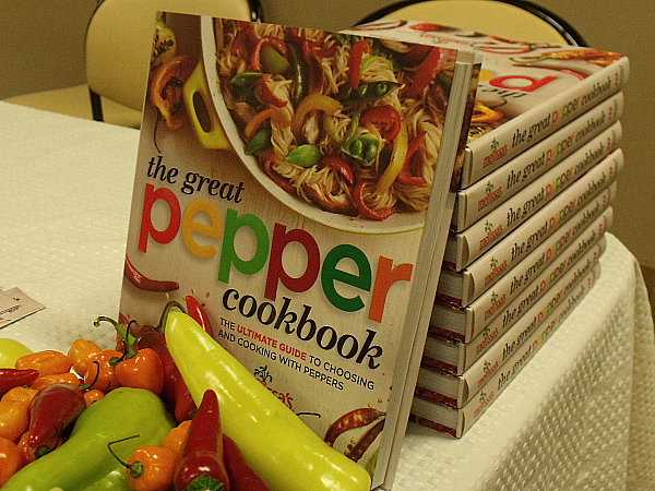 Melissa's The Great Pepper Cookbook Launch