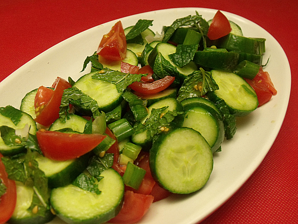 Cucumber Mint Salad