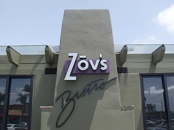 Zov's Bistro - Tustin, California