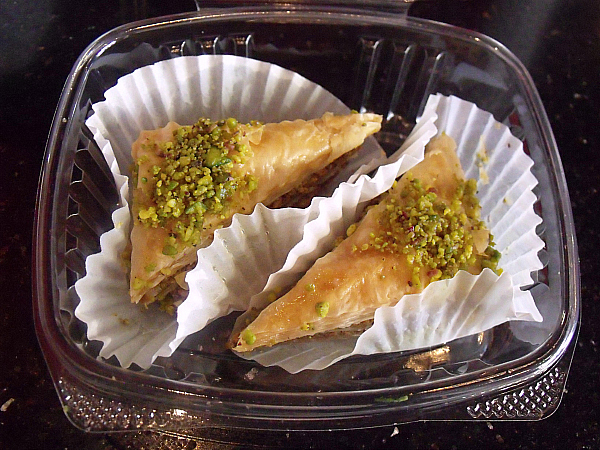 Baklava at DonerG Turkish & Mediterranean Grill - Irvine, California