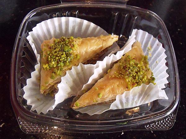 Baklava at DonerG Turkish & Mediterranean Grill - Irvine, California