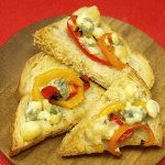 Sweet Pepper & Blue Cheese Bruschetta