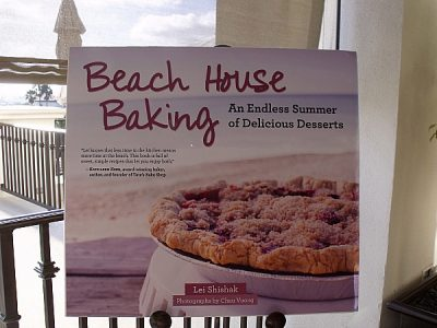 Beach House Baking Cookbook Launch