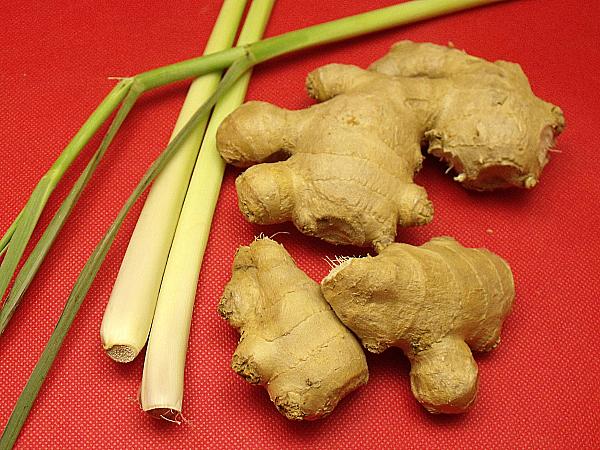 ginger and lemongrass