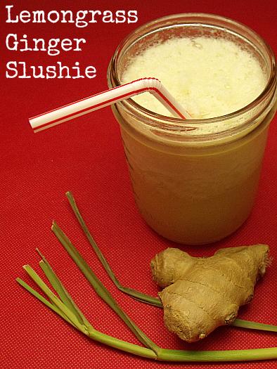 Ginger Lemongrass Slushie