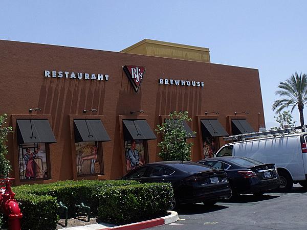 BJ's Restaurant and Brewery - Irvine, California