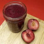 Plum Blueberry Breakfast Smoothie