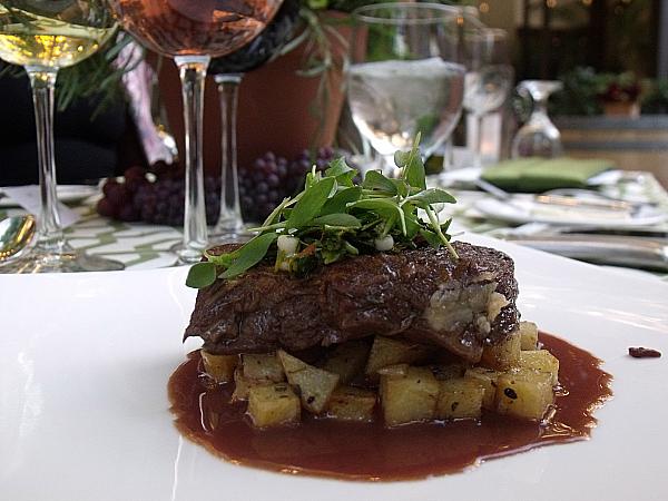 Silver Trumpet Restaurant and Olivi Wines - Costa Mesa, California