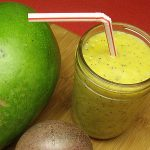 Mango Passion Fruit Smoothie Recipe