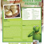Disney Muppets Most Wanted Constantine's Pierogies Recipe