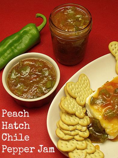 Peach Hatch Chile Pepper Jam