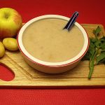 Creamy Vegan Celery Root and Apple Soup
