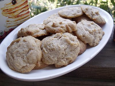 Easy Agave Pancake Mix Cookies