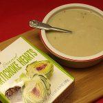 Creamy Vegan Artichoke Soup