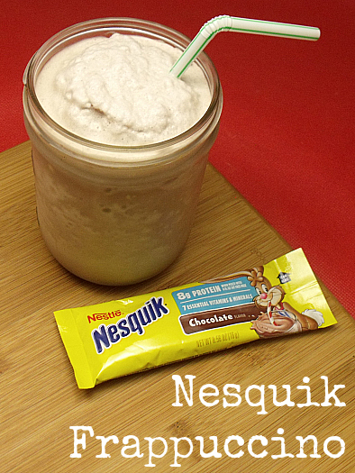 Nesquik Chocolate Ice Blended Frappuccino