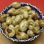 Garlic Roasted Fava Beans Recipe