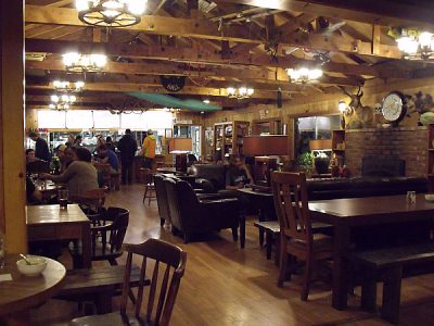 Cafe at The Bug – Midpines, California