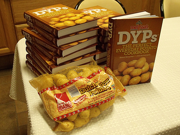 DYPs The Perfect Everyday Potato Cookbook Launch