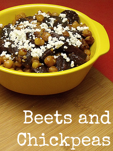 Beets and Chickpeas