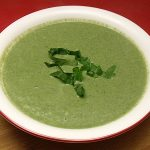 Vegan Creamy Spinach Soup